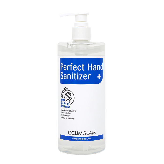 CCLIMGLAM PERFECT HAND SANITIZER [Ethyl Alcohol] 500ml